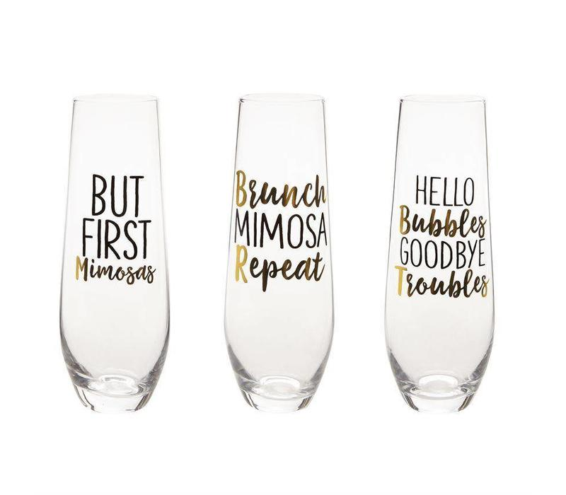 Brunch Champagne Glasses