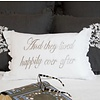 And They Lived Happily Ever After Pillow