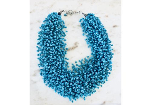 Necklace Beaded Turquoise