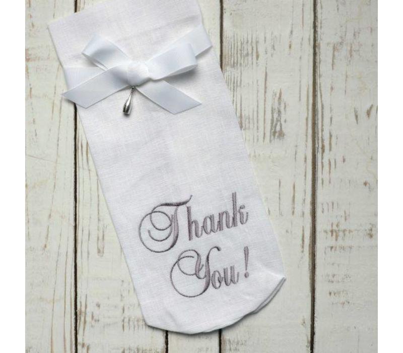 Thank You Wine Bag