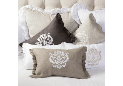 Damask Pillow 12 x 18