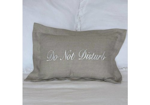 Do not Disturb Pillow 12 x 18