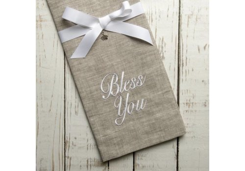 Bless You Linen Towel