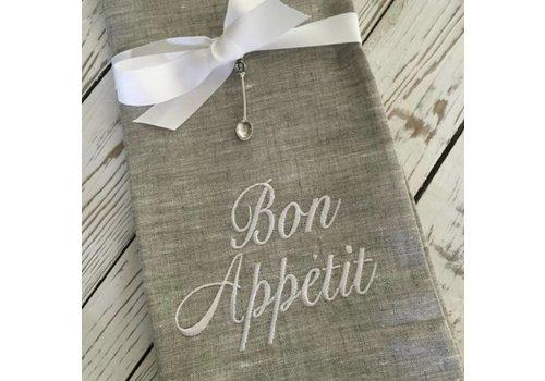 Bon Appetit Linen Towel