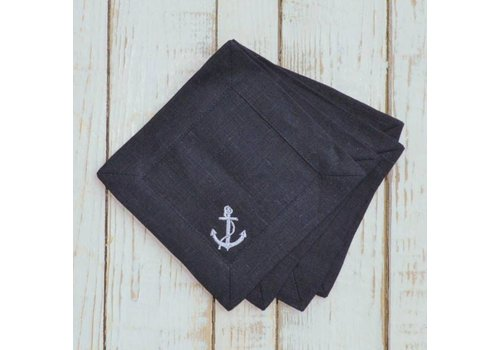 Anchor Cocktail Napkin Set