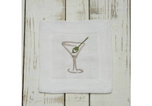 Martini Cocktail Napkin Set