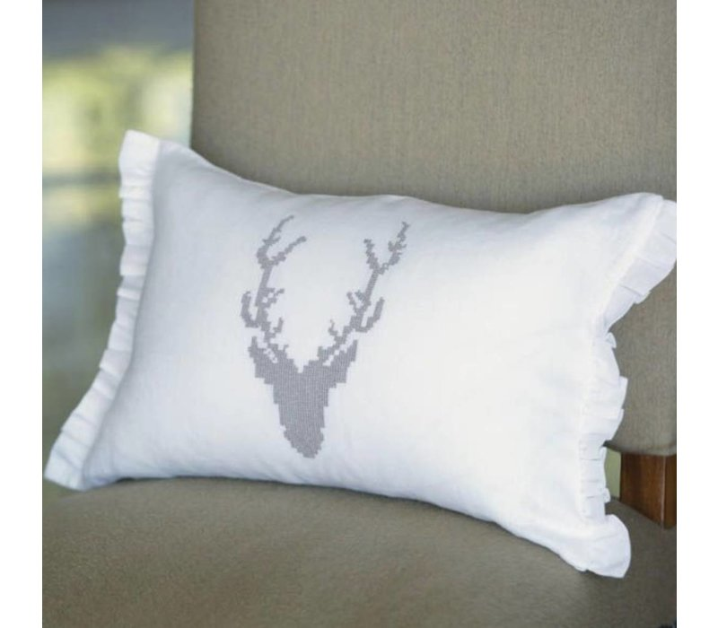 Stag Pillow 12 x 18