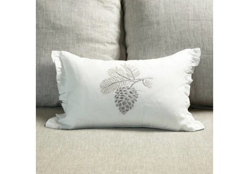 Pinecone Pillow 12 x 18