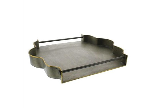 York Galvanized Tray - Square
