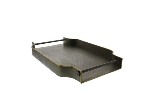 York Galvanized Tray - Rectangle