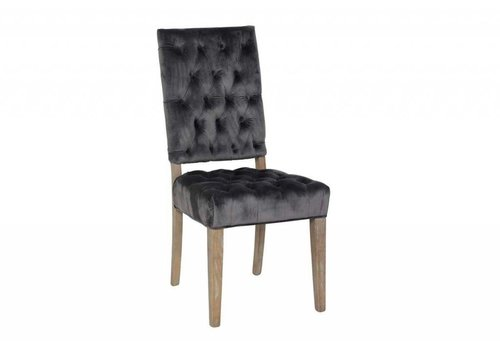 Rosalind Side Chair Steel