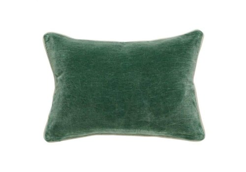 SLD Heirloom Velvet Pine Pillow 14x20""