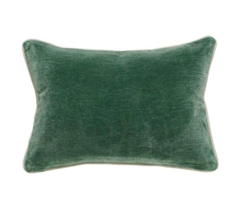 """SLD Heirloom Velvet Pine Pillow 14x20"""""""