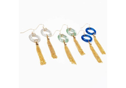 Mini Tassel Earring