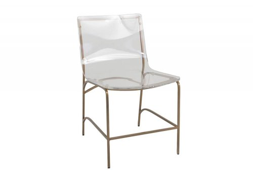 Penelope Dining Chair (Antique Gold)