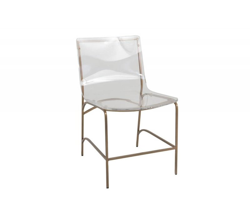 Penelope Dining Chair Antique Gold