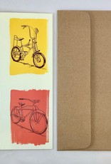 Artists to Watch Keep Biking Birthday Card    Artists to Watch