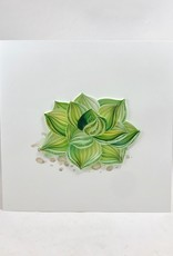 Quilling Card Succulent Card || Quilling Card