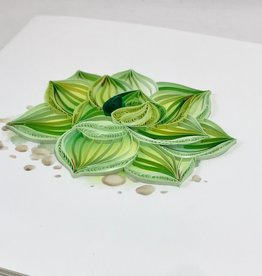 Quilling Card Succulent Quilling Card