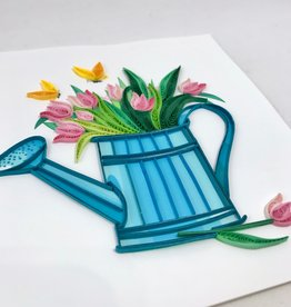 Quilling Card Happy Gardening Quilling Card