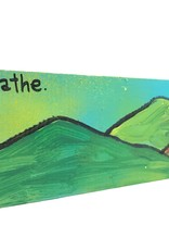 Cap Man Breathe Mountains Painting || Cap Man