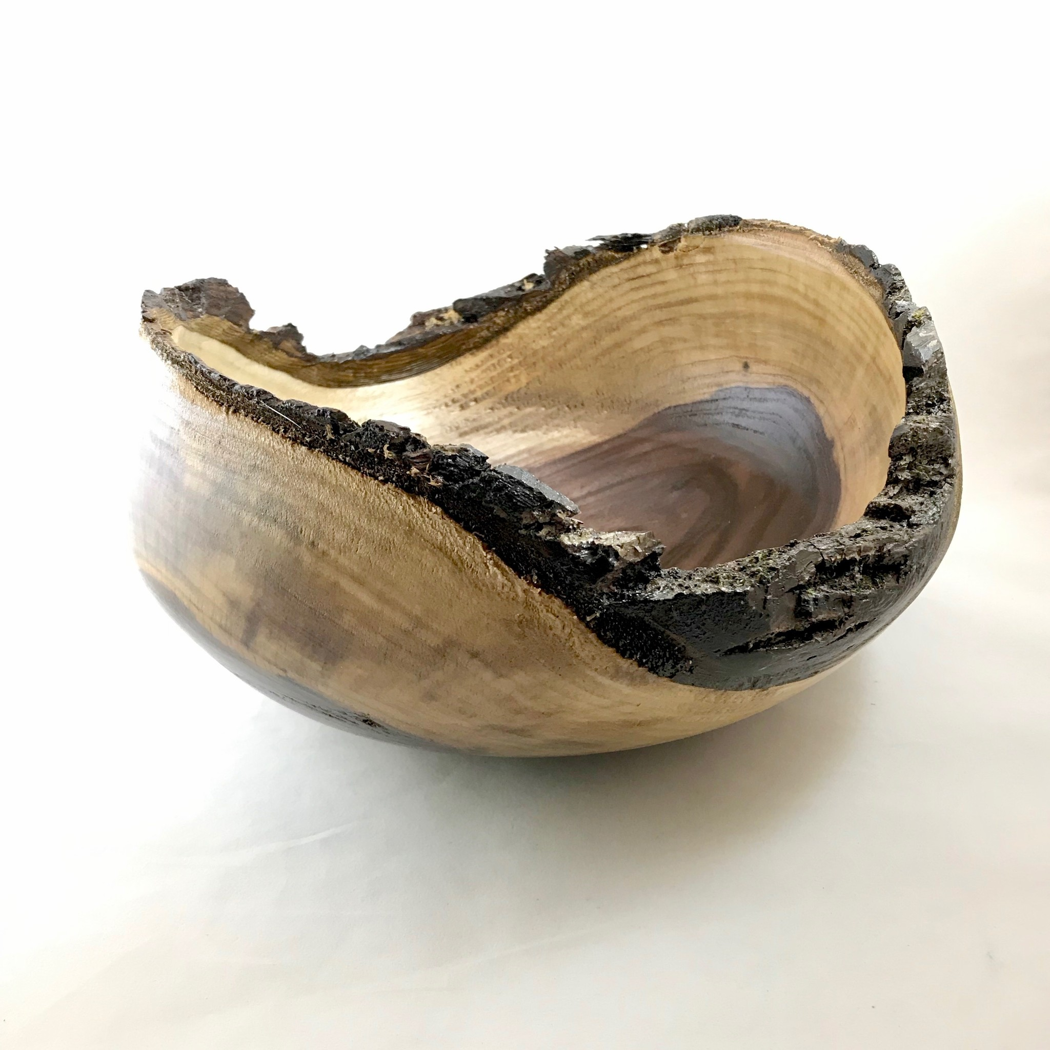 Mike Sellers Black Walnut Bowl || Mike Sellers