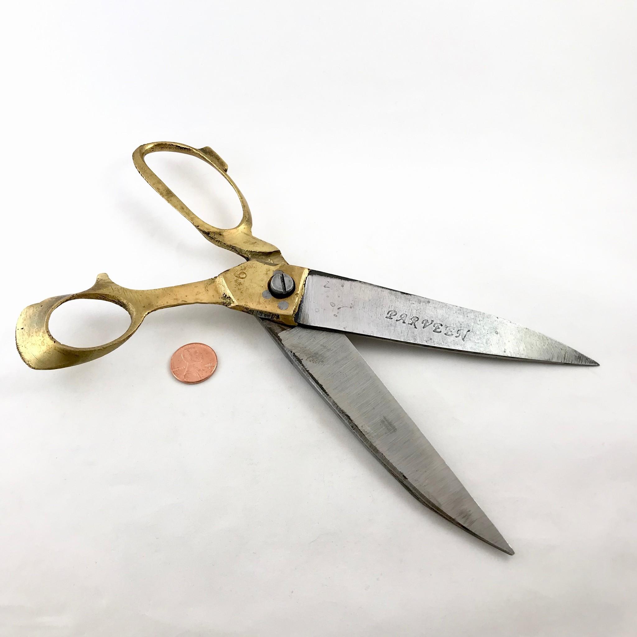 "Natural Habitat Brass 9"" Tailor Scissors || Natural Habitat"