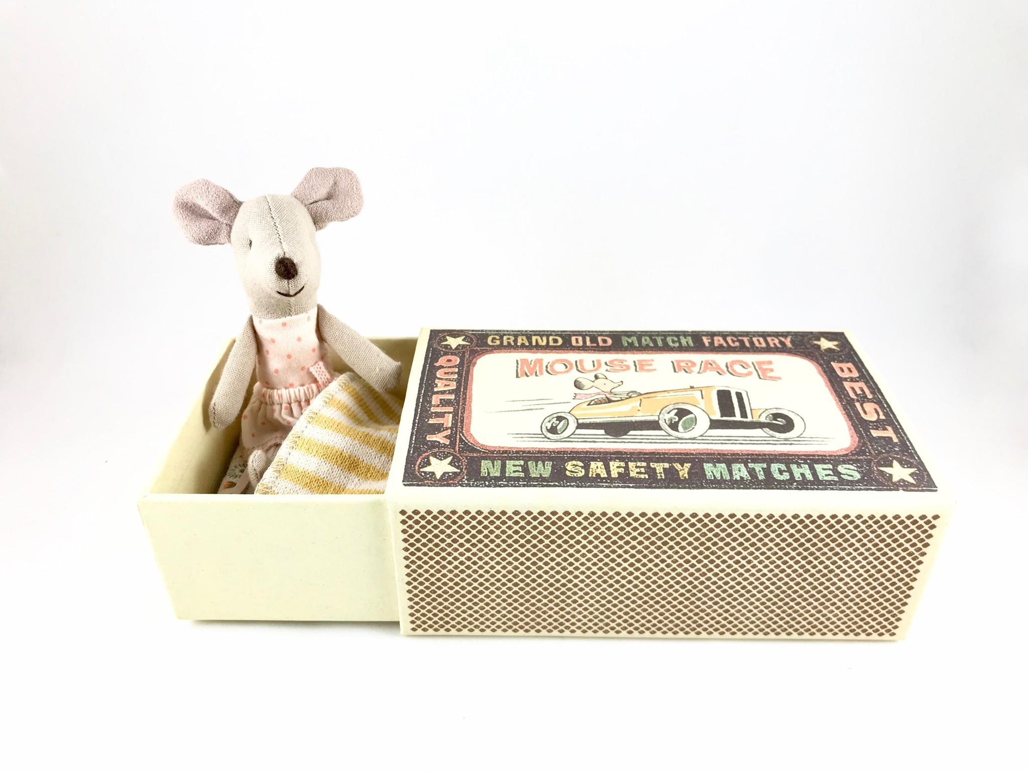 Maileg Little Sister Mouse in a Box | Maileg