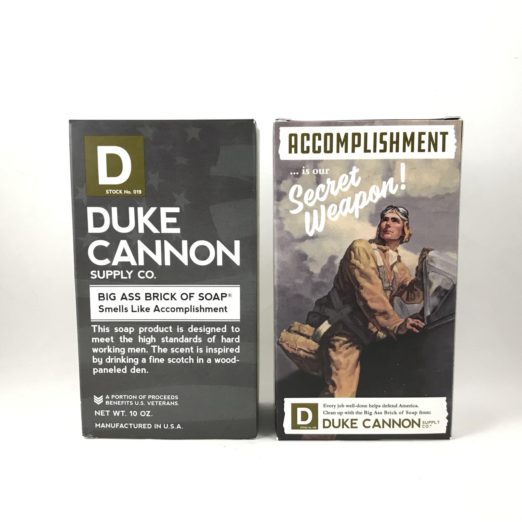 Duke Cannon Accomplishment Soap   Duke Cannon