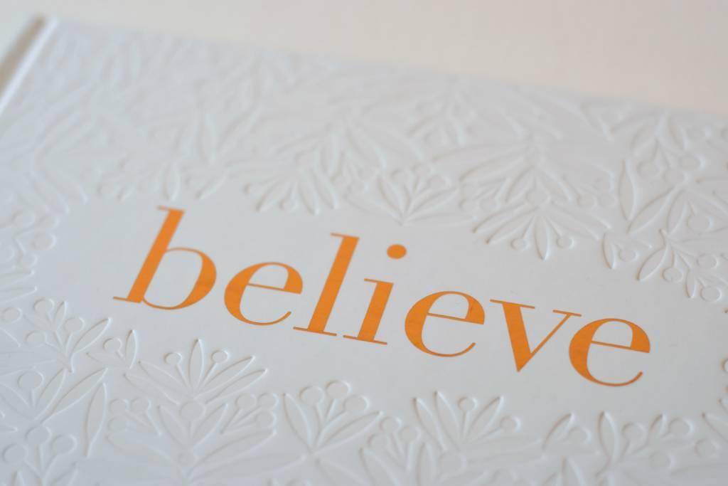 Believe, Gift Book