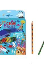 eeBoo In the Sea Color Pencils