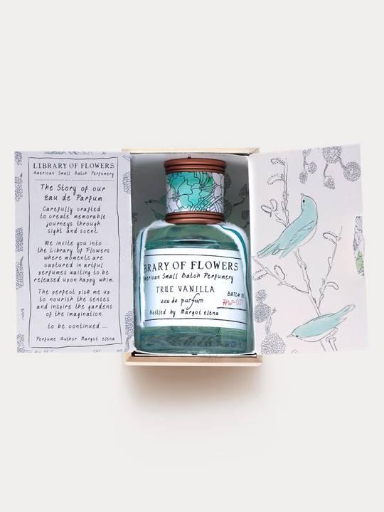 Perfume. Library of Flowers. True Vanilla