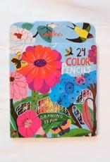 eeBoo Zinnia Colored Pencils