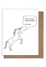 Letterpress Apology Cards by  Matt Butler
