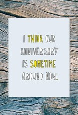 Anniversary Cards by Near Modern Disaster