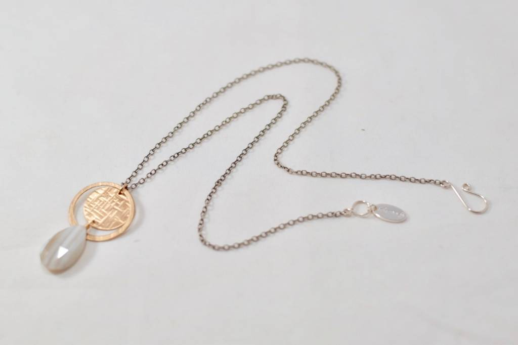 Laura J Boulder Opal Necklace | Laura J Designs