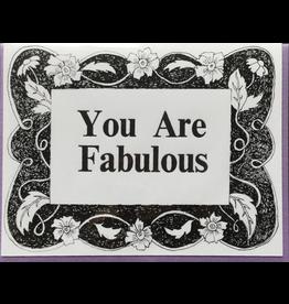Karen Fuhr You Are Fabulous card
