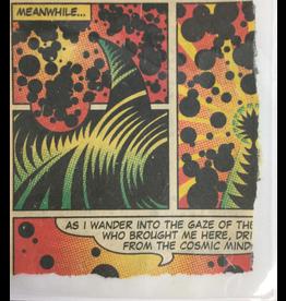 Pasternak, Robert Ripped Comic Panel