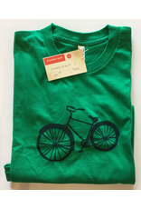 biebrich, tamara rae Green Bike Tee, Clothing