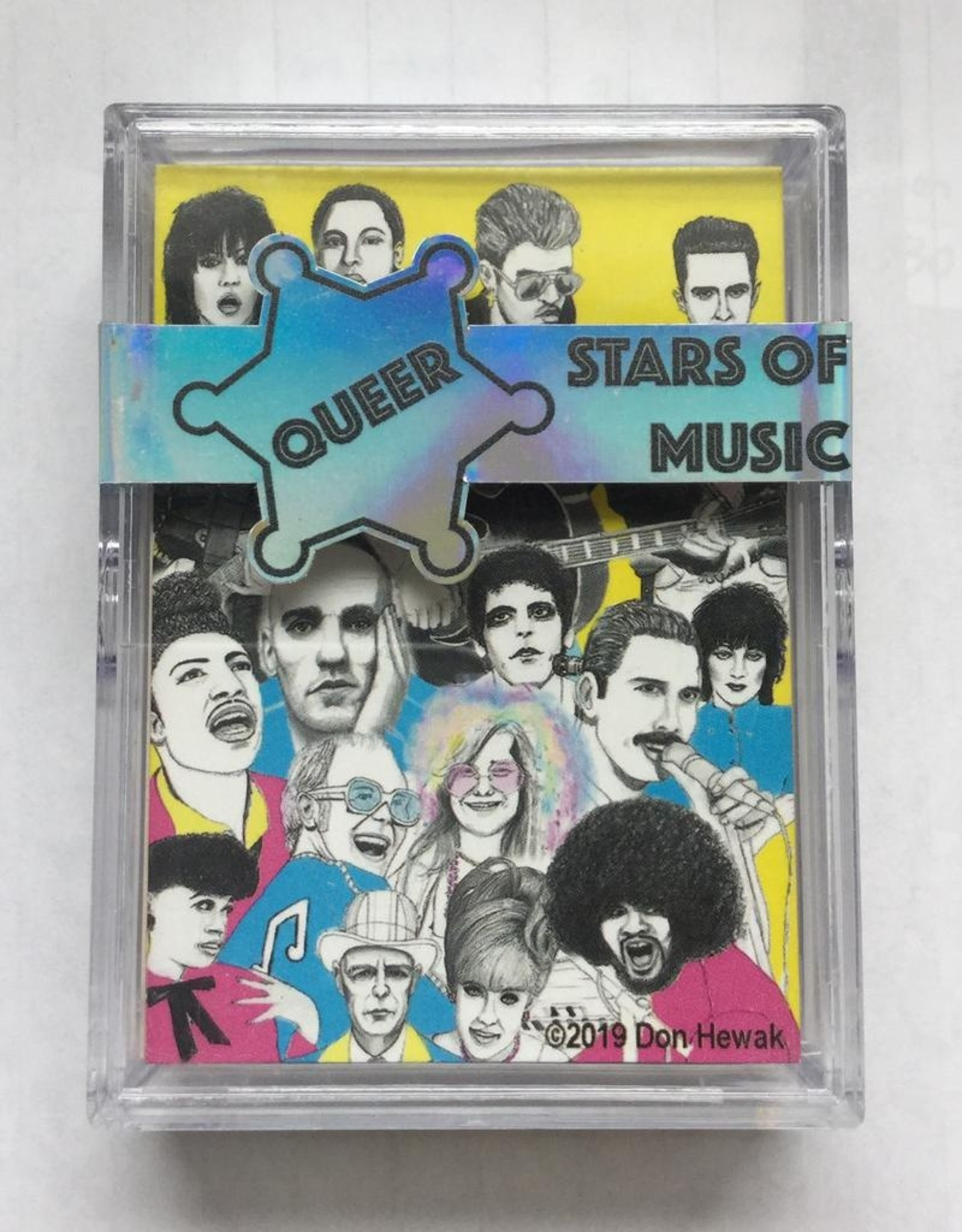 Hewak, Don Queer Stars of Music, Trading Cards