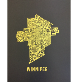 Map Print, Print