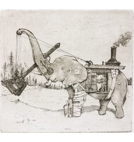 Graham, Peter Steam Elephant circa 1930