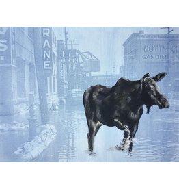 Graham, Peter Cow Moose in Swamp