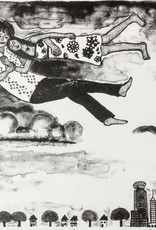 Rudolph, Miriam Homage à Chagall - Over the Town
