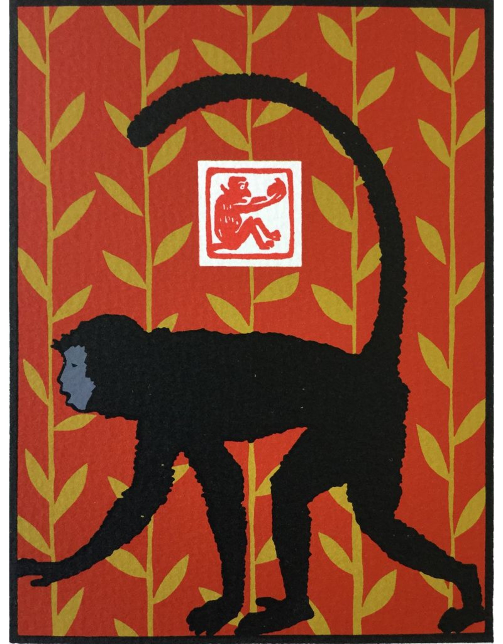 Valko, Andrew Year of the Monkey (red)