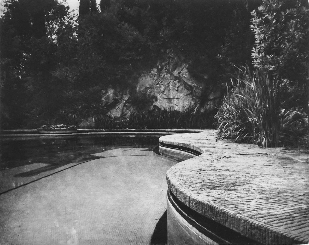 McLachlan, Ted Villa Fontanella, Florence - Edge of Pool