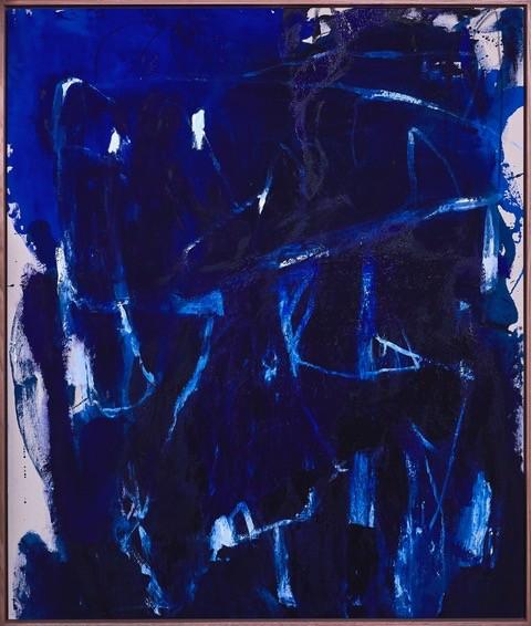 A Nurturing Undertone With a Sense Of Spirituality #2 2018 -  Antonia Mrljak - Acrylic On Linen, Oak Framed - 134x113cm
