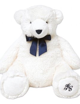tartine et chocolate Tartine et Chocolat - Jean the White Bear - Ecru 30cm