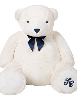 tartine et chocolate Tartine et Chocolat - Jean the White Bear - Ecru 60cm - Gift Box