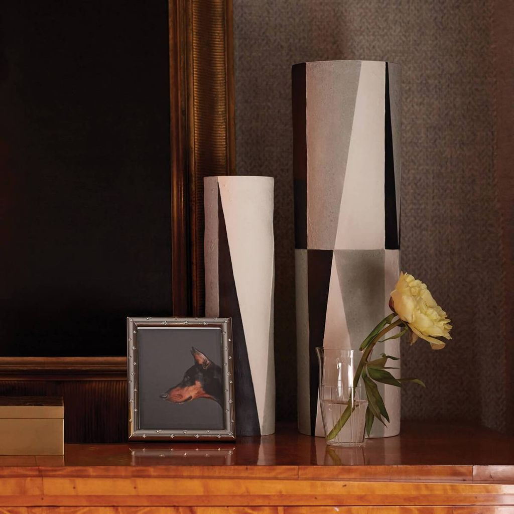 L'Objet L'Objet - Cubism Vase - Large - D10xH36cm